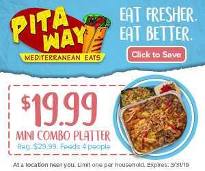 Pitaway Wraps & Mediterranean Eats Near Me